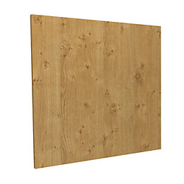Darwin Modular Oak Effect Bridging Door (H)348mm (W)497mm