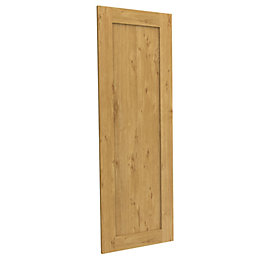 Darwin Modular Oak Effect Linen Door (H)1456mm (W)497mm