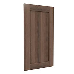Darwin Modular Walnut Effect Chest Cabinet Door (H)958mm