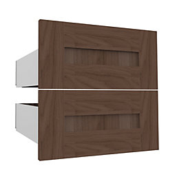 Darwin Modular Natural & Walnut Effect External Drawers