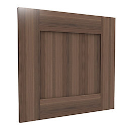 Darwin Modular Walnut Effect Bedside Cabinet Door (H)478mm