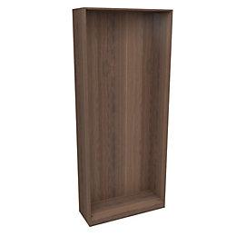 Darwin Modular Walnut Effect Tall Wardrobe Cabinet (H)2356mm