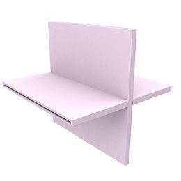 Form Konnect Pink Divider (W)328mm