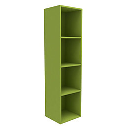 Form Konnect Lime 4 Cube shelving unit (H)1372mm