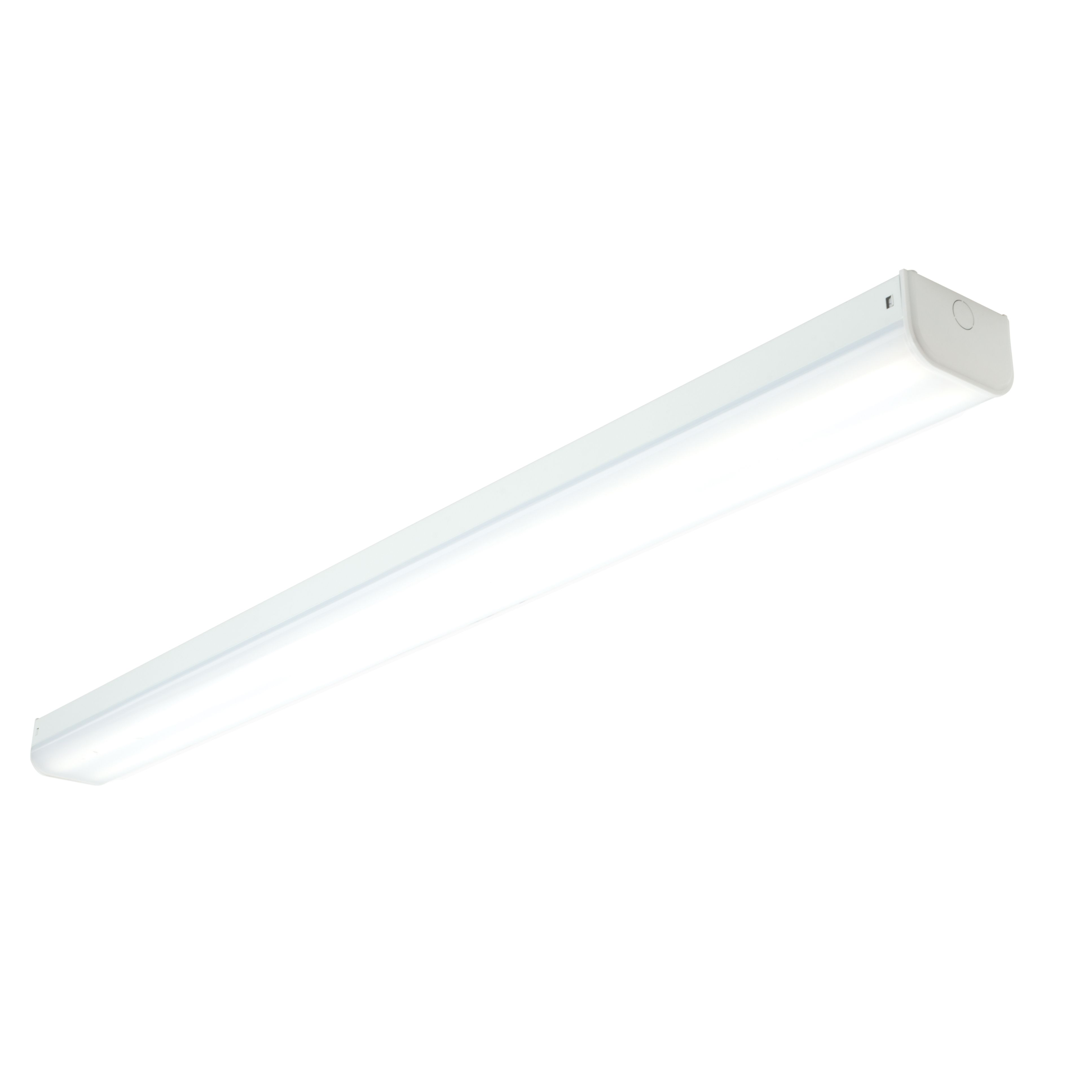 Diall Wired LED Indoor Twin Batten Light with Diffuser (L)1532mm ...