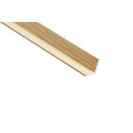Square Corner Moulding (T)32mm (W)32mm (L)2400mm