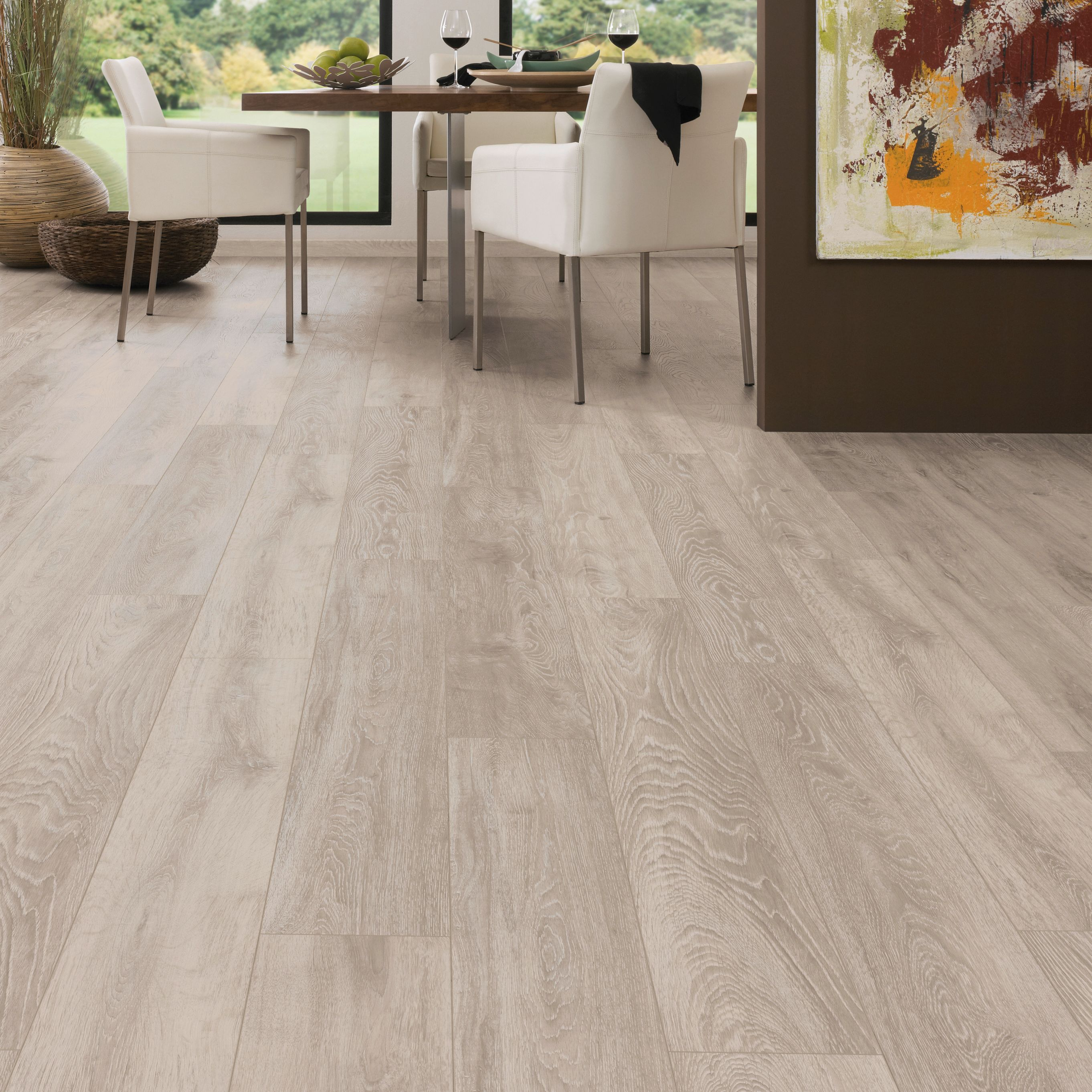 Amadeo Boulder Oak Effect Laminate Flooring 2 22 M² Pack Departments Diy At B Q
