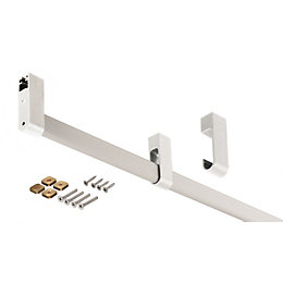 Darwin Silver & Silver Effect Hanging Rail (H)40mm