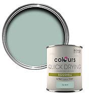 Colours Eau de nil Eggshell Wood & metal paint 750 ml