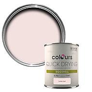 Colours Quick dry Subtle blush Eggshell Wood & metal paint 750 ml