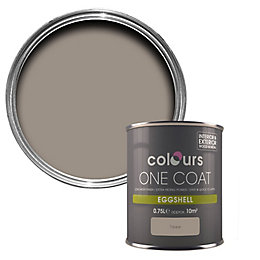 Colours One Coat Taupe Eggshell Wood & Metal