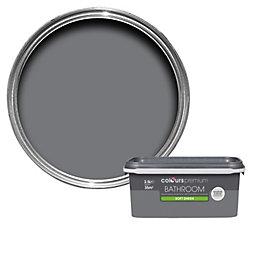 Colours Bathroom Grey Slate Soft Sheen Emulsion Paint