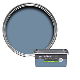 Colours Bathroom Blue Thistle Soft Sheen Emulsion Paint