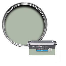 Colours Durable Cut grass Matt Emulsion paint 2.5L