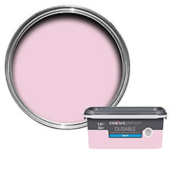 Colours Durable Pink pink Matt Emulsion paint 2.5L