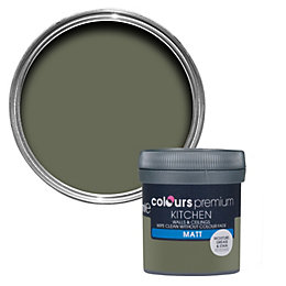 Colours Kitchen Crocodile Matt Emulsion Paint 0.05L Tester