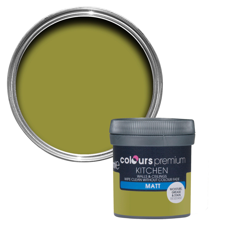 Colours Kitchen Flora\'s garden Matt Emulsion paint 0.05L Tester pot ...
