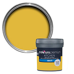 Colours Kitchen Golden rays Matt Emulsion paint 0.05L