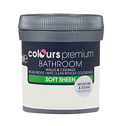 Colours Bathroom Mussel Soft sheen Emulsion paint 0.05L