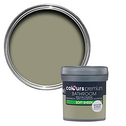 Colours Bathroom Alep Soft sheen Emulsion paint 0.05