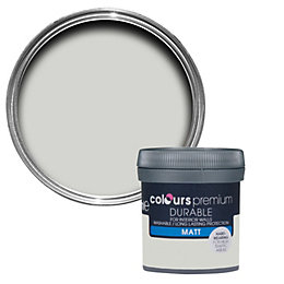 Colours Durable Grey Hints Matt Emulsion Paint 0.05L