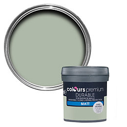 Colours Durable Cut Grass Matt Emulsion Paint 0.05L