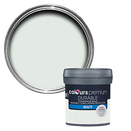 Colours Durable Mint secret Matt Emulsion paint 0.05