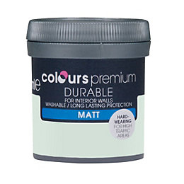 Colours Durable Hamptons blue Matt Emulsion paint 0.05