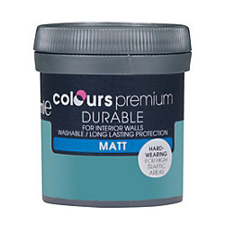 Colours Durable Lush Lagoon Matt Emulsion Paint 0.05L