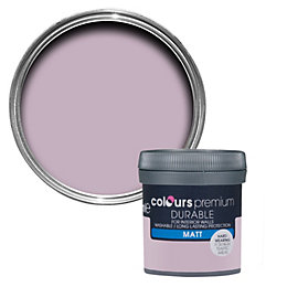 Colours Durable Orchid Matt Emulsion paint 0.05L Tester