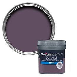 Colours Durable Blackcurrant Matt Emulsion paint 0.05 L