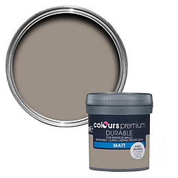 Colours Durable Taupe Matt Emulsion Paint 0.05L Tester