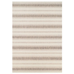 Colours Arianna Cream & Natural Rug (L)1.6M (W)1.2