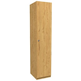 Darwin Oak Effect 1 Door Wardrobe (H)2356mm (W)499mm
