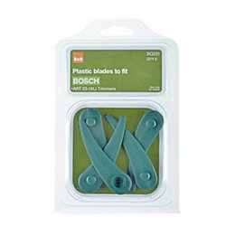 B&Q BQ231 82 Plastic Trimmer Blades, Pack of