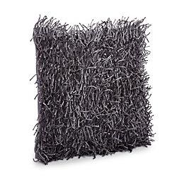 Nigella Shaggy Anthracite Cushion
