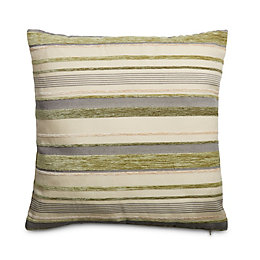 Sedum Stripe Sage green Cushion