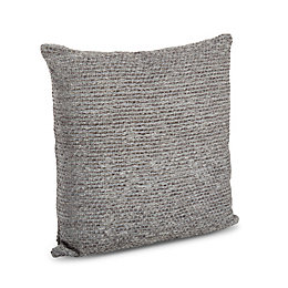 Carpel Chenille Anthracite Cushion