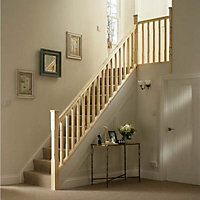 Chamfer Pine 32mm Complete banister project kit