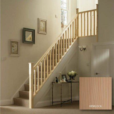 Chamfer Hemlock 32mm Complete banister project kit