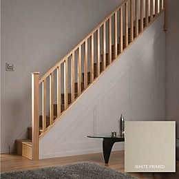 Square Pine 32mm Complete banister project kit