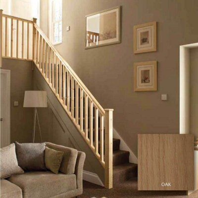 Square Oak 41mm Complete banister project kit