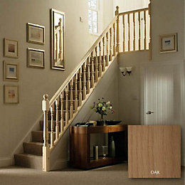 Colonial Oak 41mm Complete banister project kit