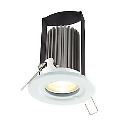 Diall White Gloss LED Fixed Downlight 5.2 W
