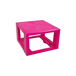 Form Kombine Pink Plastic Drawer Tower Frame
