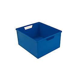 Form Kombine Blue 12L Plastic Drawer Tower