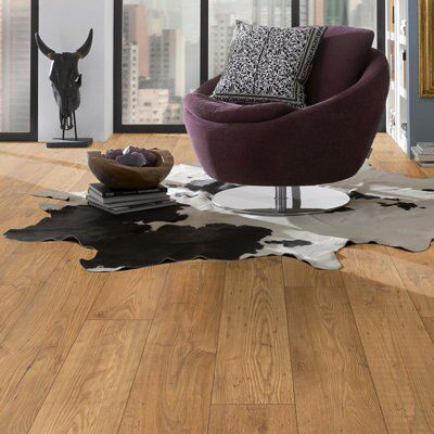 Ile Chestnut Effect Laminate Flooring 1 73 M² Pack Departments Diy At B Q