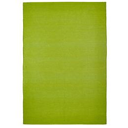 Colours Madisen Green Plain Rug (L)1.7M (W)1.2 M