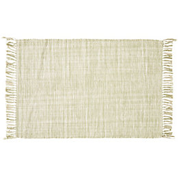 Colours Lianna Green Tie Dye Rug (L)1.2M (W)0.8