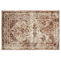 Colours Elsbeth Natural Persian Rug (L)1.7m (W)1.2 m